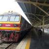 15.10 Train from Bangkok to Surat Thani