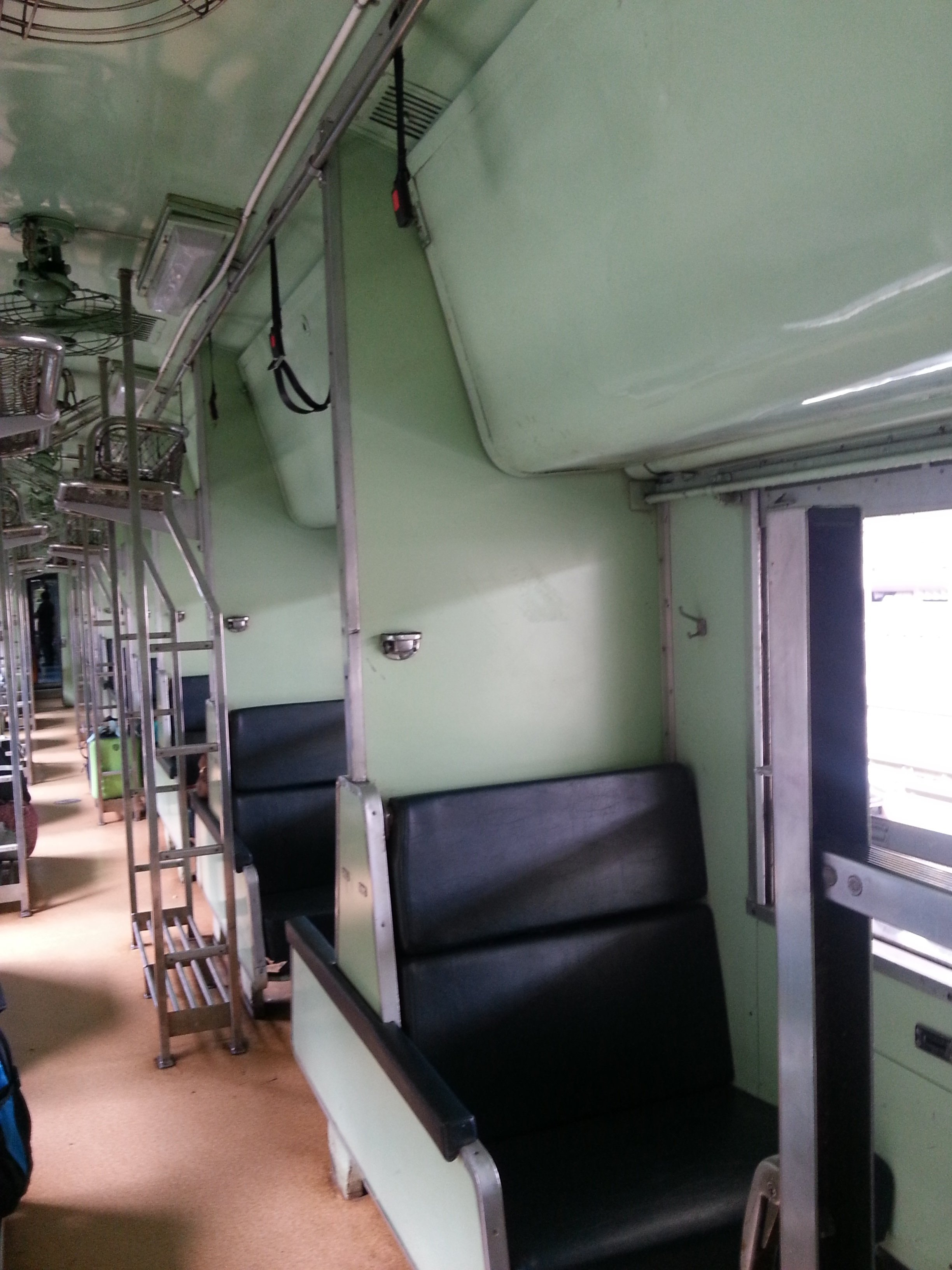 2nd Class Air Conditioned Sleeper Seats on Train 169