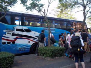 Bus from Surat Thani Train Station to Koh Samui