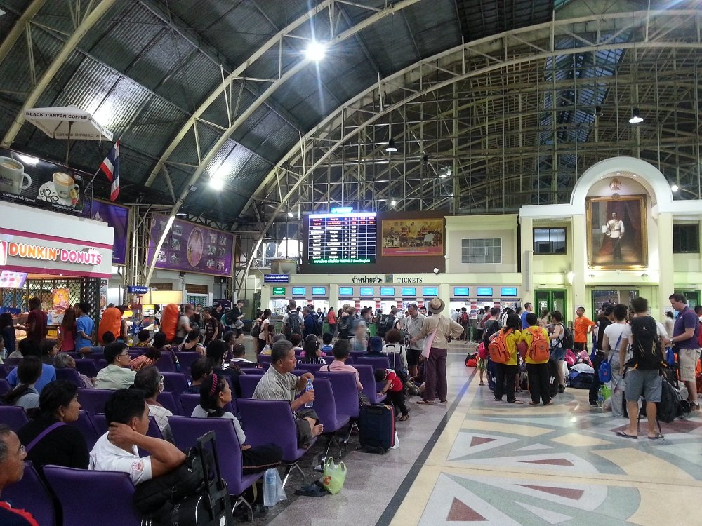 Concourse at Hua Lamphong Railway Station
