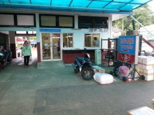 Parcel Office at Surat Thani Train Station